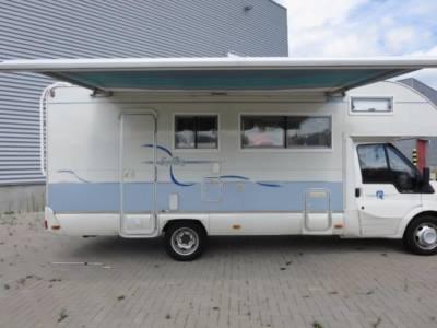 Camper Tilburg Ford Rimor 16