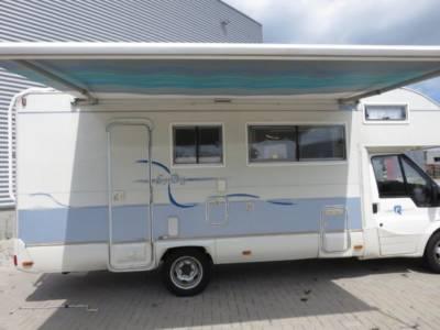 Camper Tilburg Ford Rimor 33
